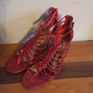 Carlos Santana sandles, heels